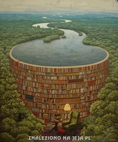 Za każdą książką jest rzeka wiedzy