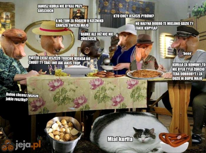 Obiad z rodziną