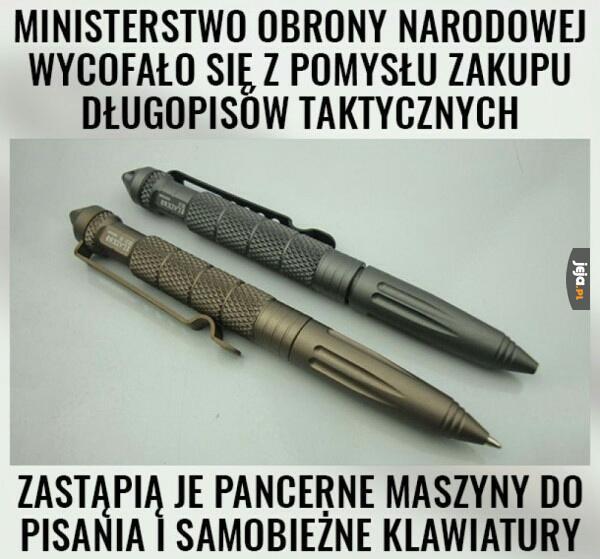 Rządowe długopisy
