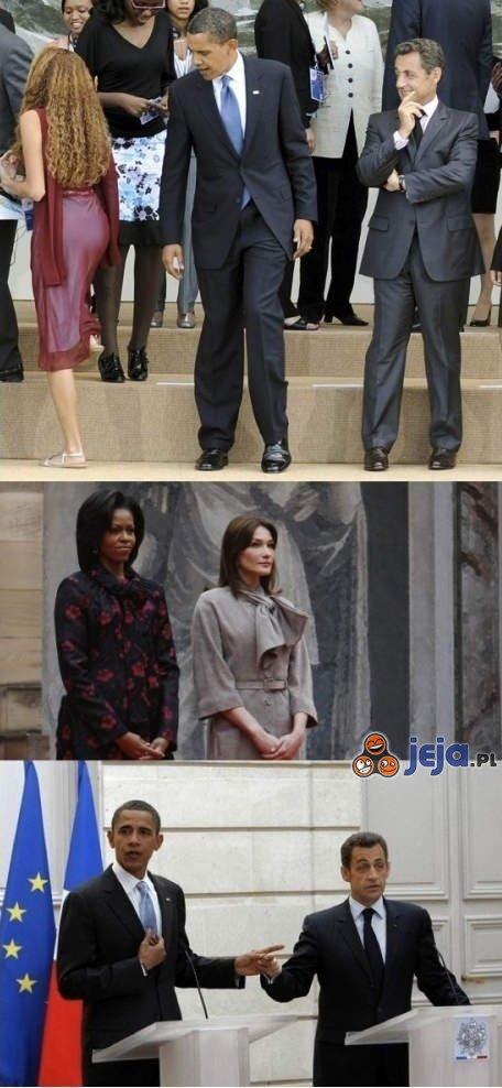 Sarkozy i Obama w tarapatach