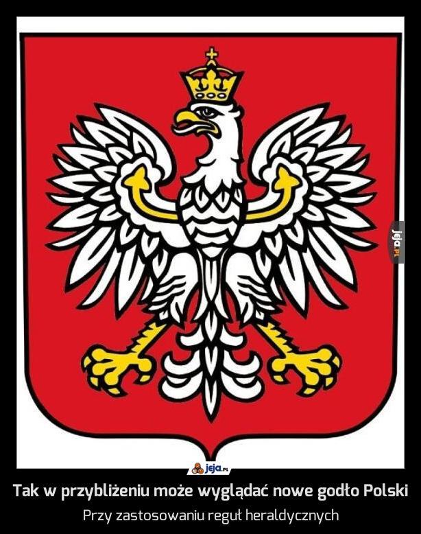 Tak w przybliżeniu może wyglądać nowe godło Polski