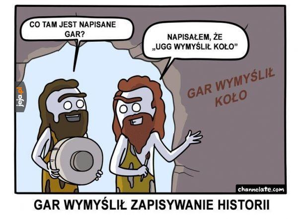 Zapisywanie historii
