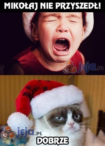 Mikołaj nie przyszedł