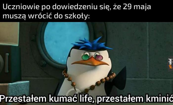Przecież ja straciłem sens życia!