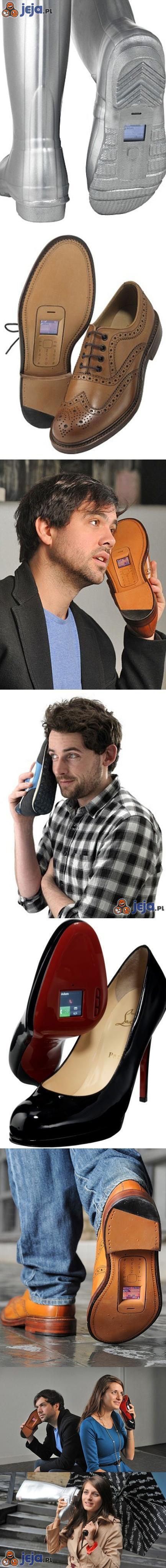 Z serii: musisz to mieć - telefon w bucie