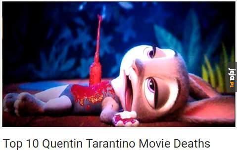 10 najlepszych śmierci u Tarantino