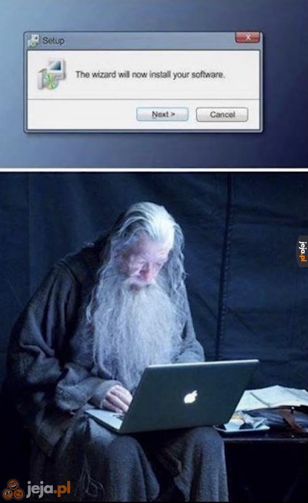 Dziękujmy czarodziejom dbającym o nasze komputery