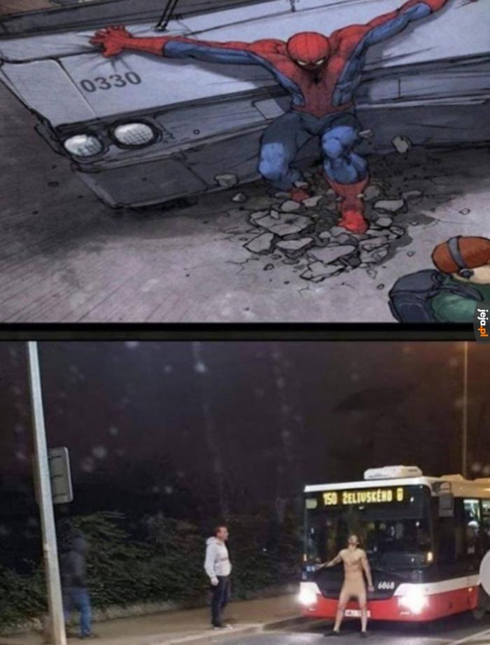 Jaki kraj, taki Spiderman