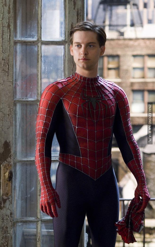 On zawsze będzie dla mnie Spidermanem