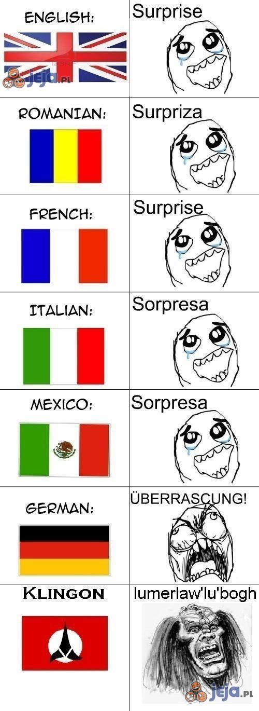 Ach, te różnice językowe
