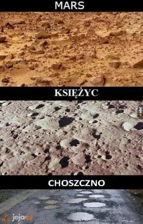 Polska to przecież też planeta...