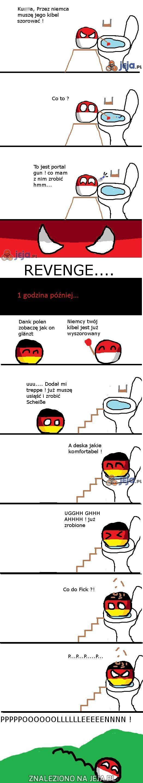 Polandball i portal gun