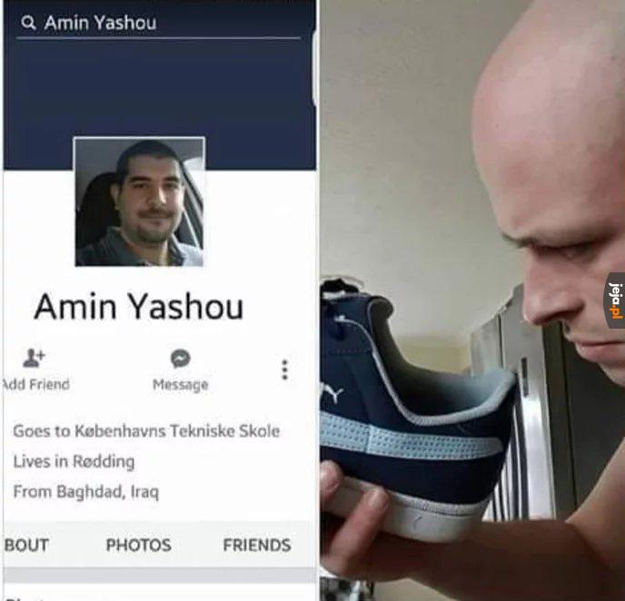 Wyłaź z mojego buta!