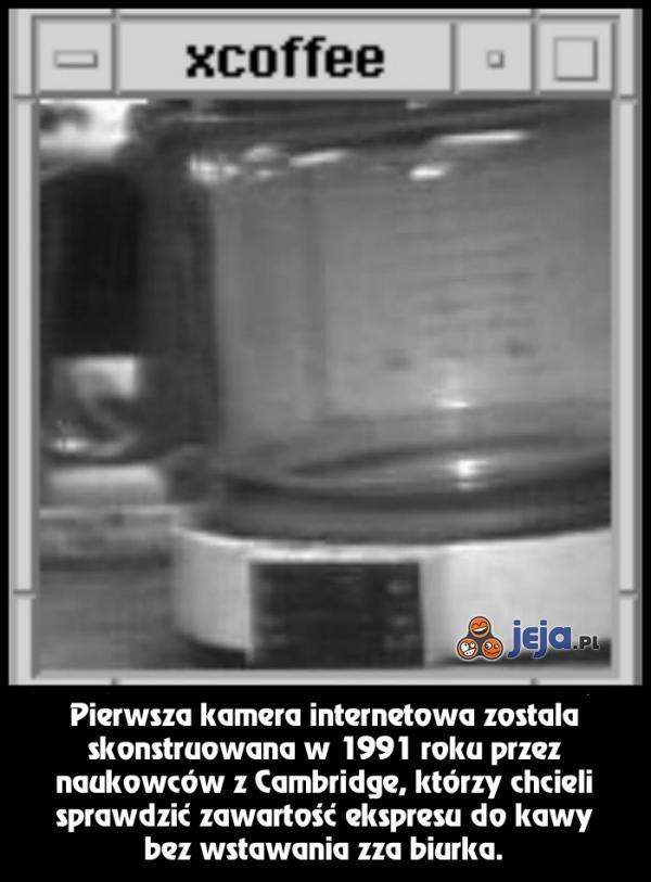 Pierwsza kamera internetowa