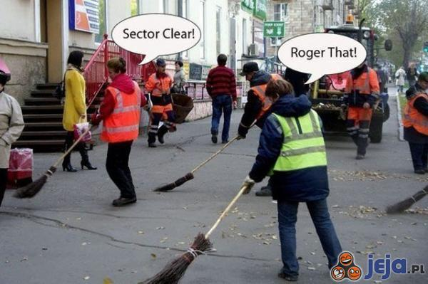 Sector clear!