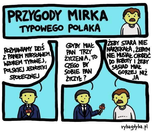 Przygody Mirka - Typowego Polaka