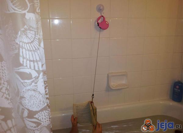 Bezpieczne czytanie w kąpieli
