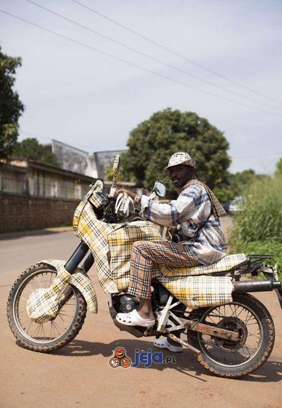 Hipster i jego motor