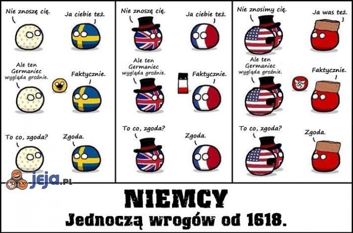 Niemcy - jednoczymy wrogów od 1618
