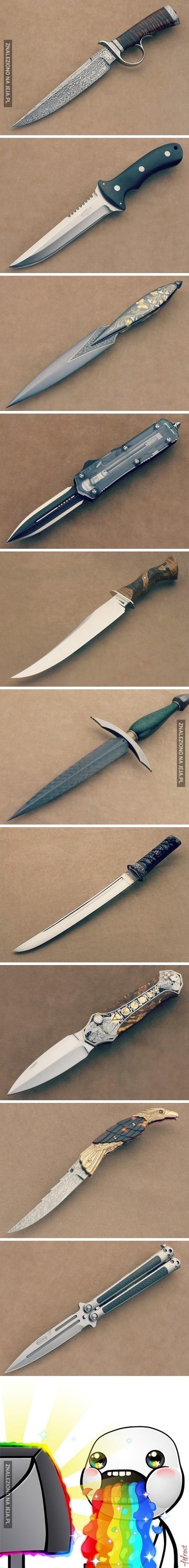 Ach, takie piękne nożyki...