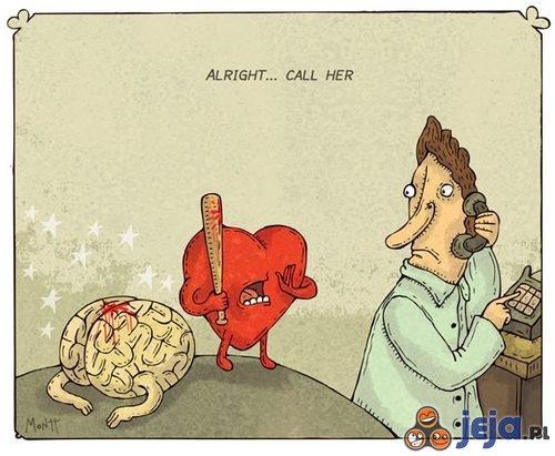 Gdy serce wygrywa z rozumem...