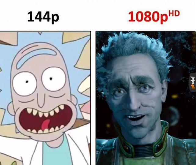 Widać pewne podobieństwo