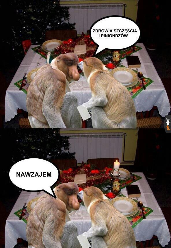 Typowe życzenia świąteczne