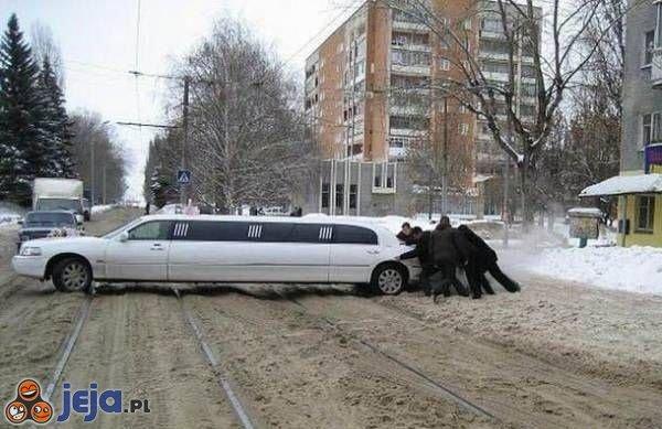 Zepsuta limuzyna