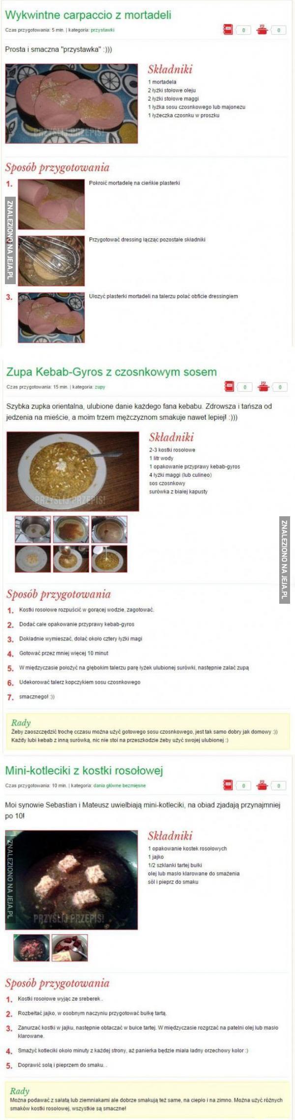 Kuchenne inspiracje!