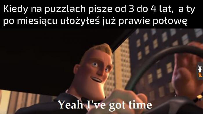 Nie ma po co się spieszyć