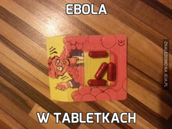 Ebola w tabletkach