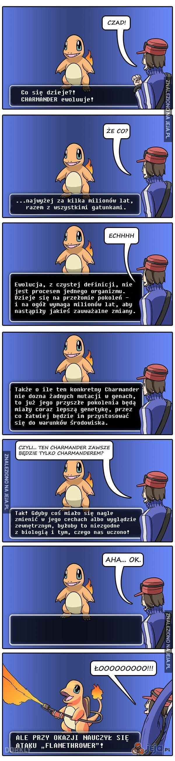 """Gdyby Pokemony naprawdę """"ewoluowały"""""""