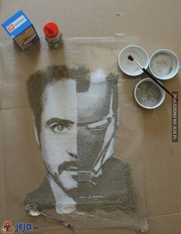Iron Manem solą i pieprzem