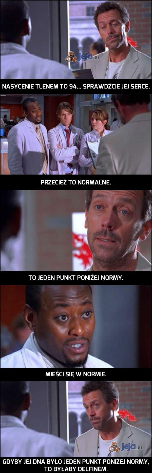 Cięty język dr. Housa