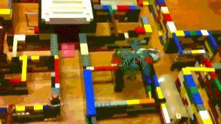 Labirynt z Lego