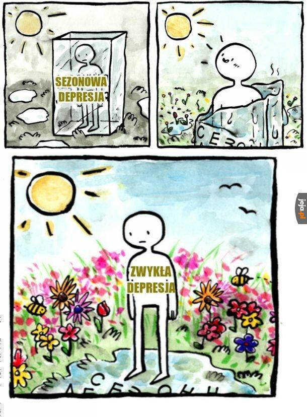 Sezonowa depresja