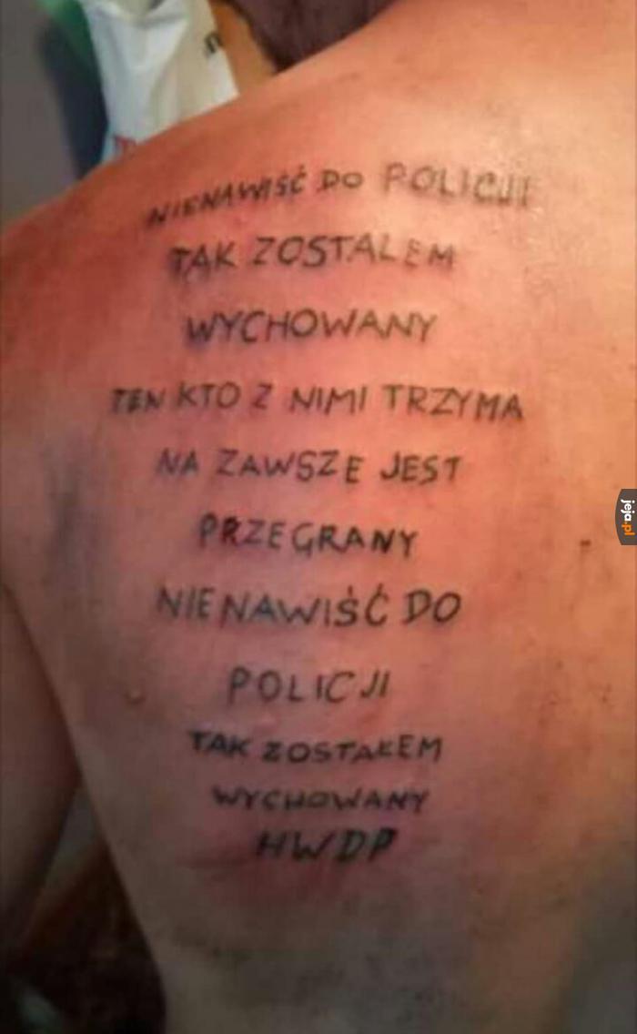 Świetny pomysł na tatuaż