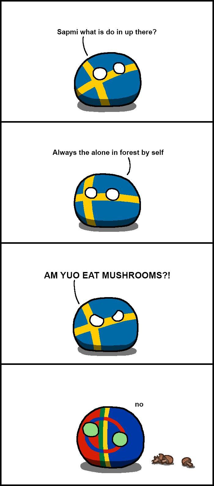 Szweckie grzyby