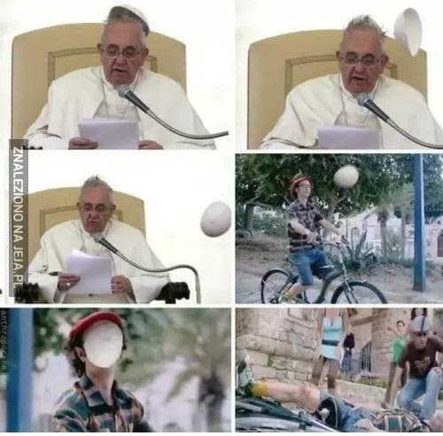 To wszystko przez papieża!