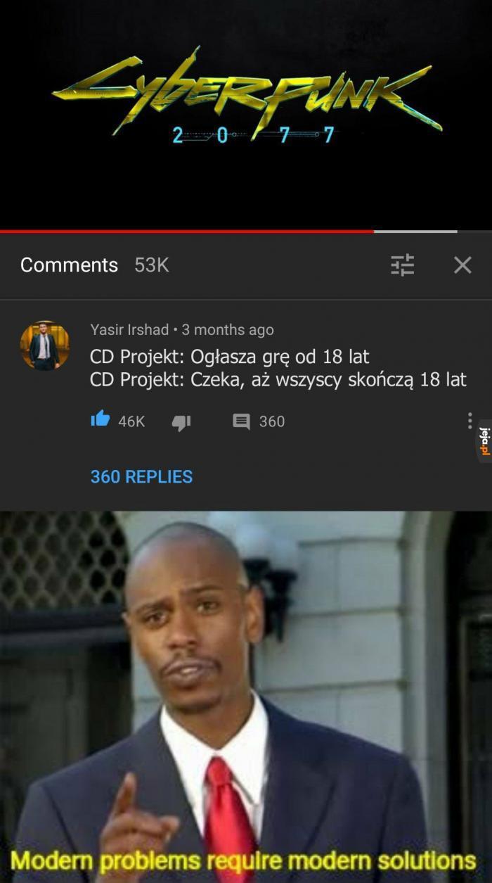 Dobry ziomek CD Projekt Red