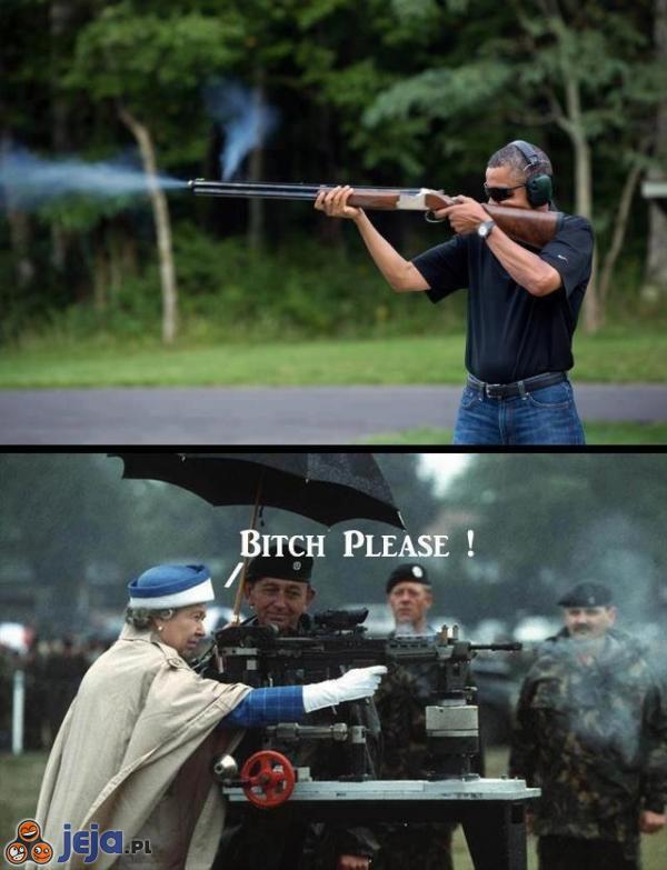 Obama vs Królowa Wielkiej Brytanii