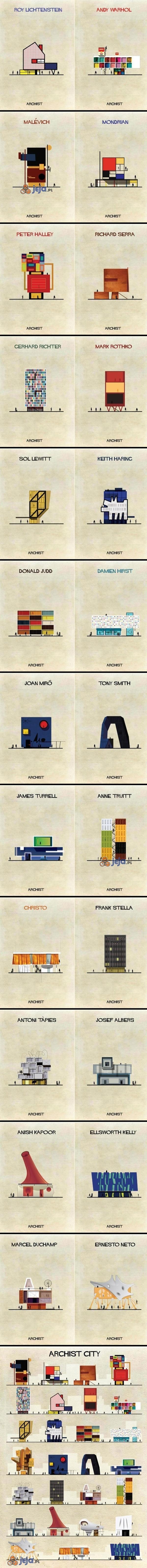 Gdyby artyści zajęli się architekturą