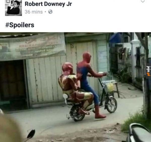 Czekającym na nowego Spidermana odradzamy oglądanie tego obrazka
