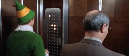 Szczyt chamstwa w windzie
