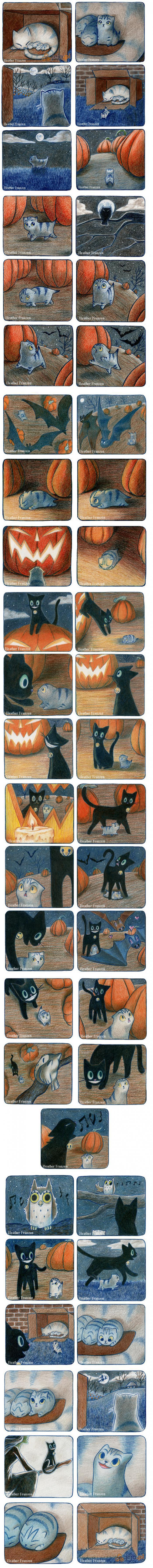 Pierwszy komiks halloweenowy