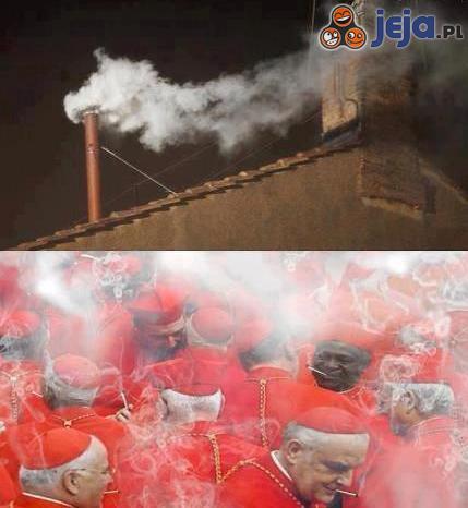 Skąd ten biały dym?