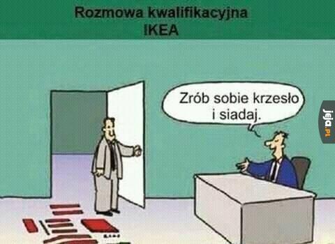 Rozmowa o pracę w Ikei