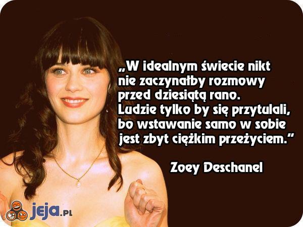 Poranne życie według Zoey