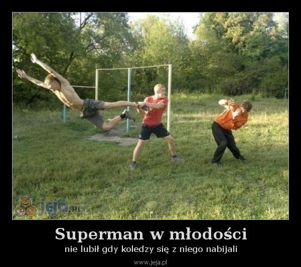 Superman w młodości