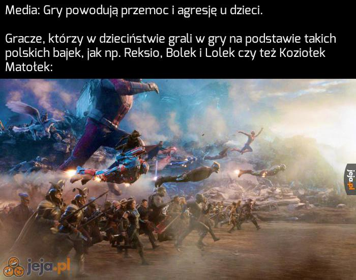 Ktoś tu nie lubi naszych polskich bajek!